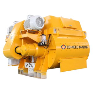 CTS 3000/2000 Twin shaft concrete mixer