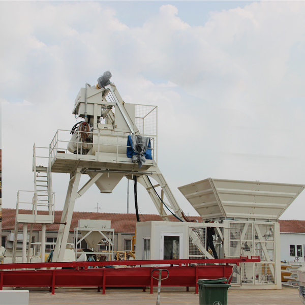 Mobile concrete batching plant MBP10 Featured Image