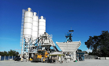 Mobile mixing plant
