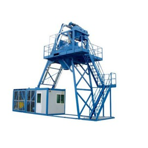 Mobile concrete batching plant MBP20