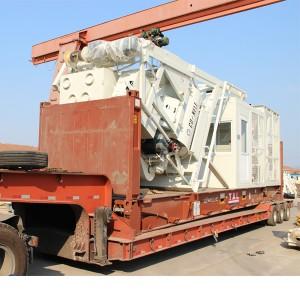 Mobile concrete batching plant MBP10