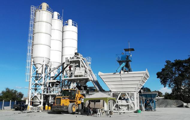 Mobile concrete batching plant MBT08 Featured Image