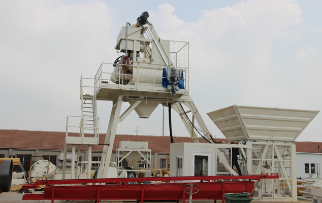 Mobile concrete batching plant MBP10 Featured Image