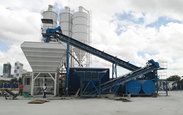MBP15 Mobile concrete mixing plant Featured Image