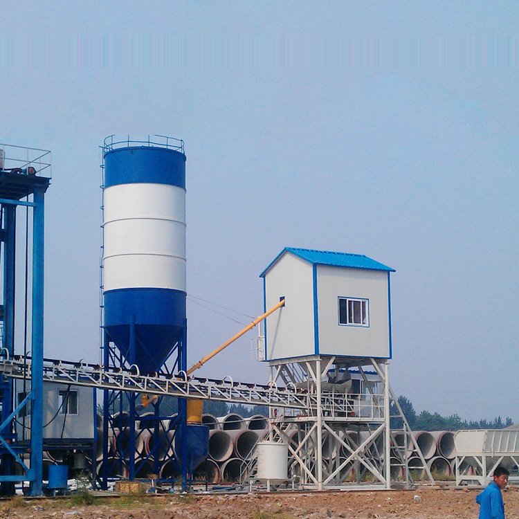 Cement pipe concrete mixing plant Featured Image