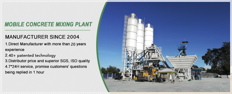 concrete bacthing plant