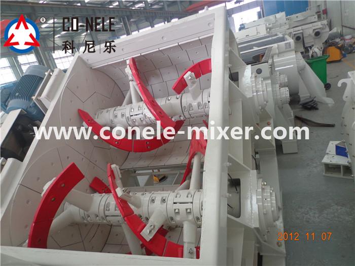 twin spiral concrete mixer13