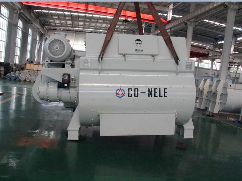 Co-nele concrete twin-shaft mixer maintenance tips