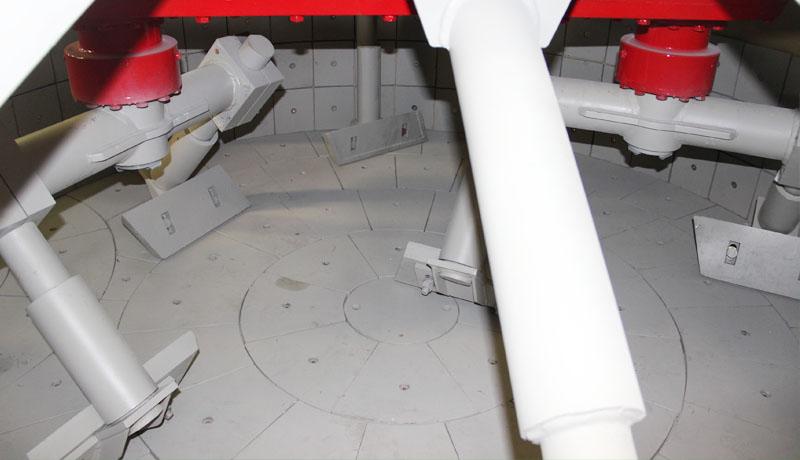 CMP1500 Planetary concrete mixers mixing blade