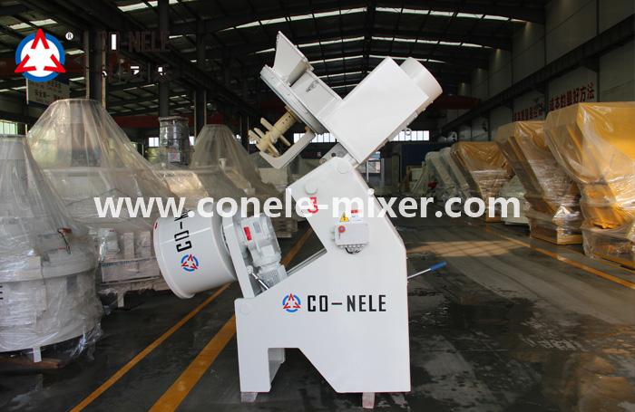 CQM40L  Intensive Mixer for refractory materials