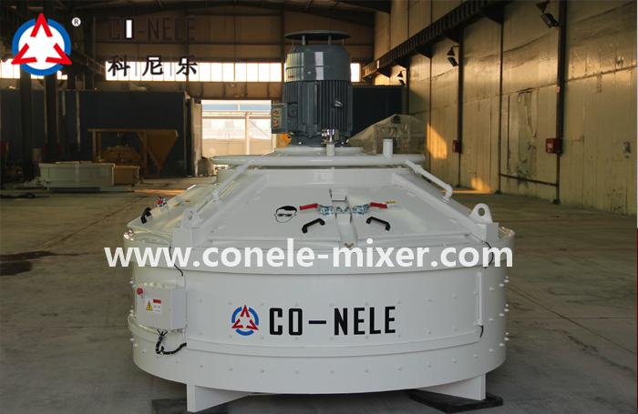 HZS90 large concrete mixing plant equipment