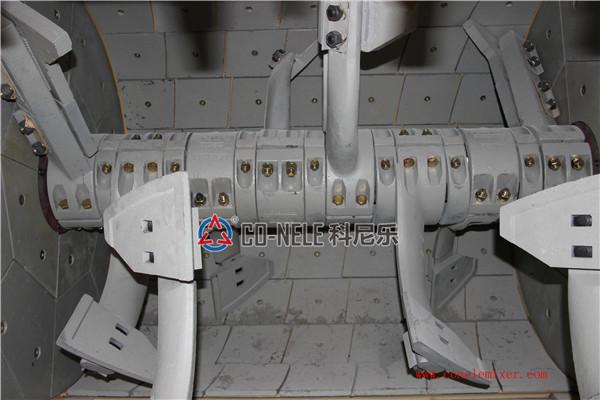 twin shaft concrete mixer05